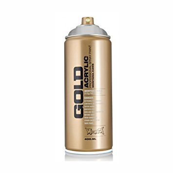 MONTANA GOLD ACRYLIC SPRAY TRANSPARENT MAGIC WHITE