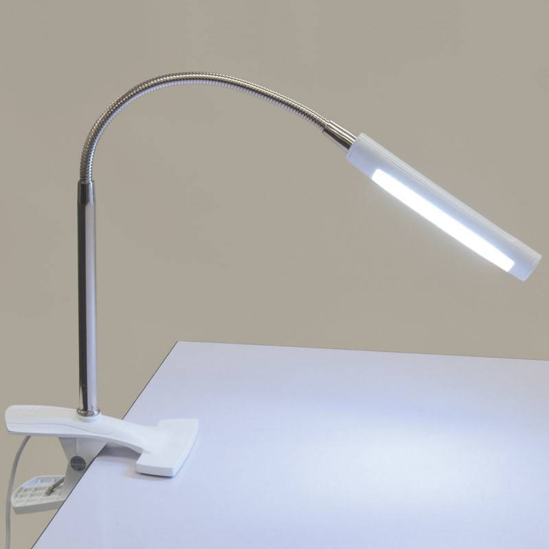 STUDIO DESIGNS STUDIO DESIGNS ART CLAMP LAMP WHITE
