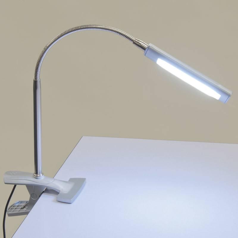 STUDIO DESIGNS STUDIO DESIGNS ART CLAMP LAMP SILVER