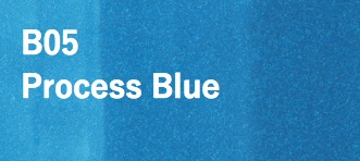 Copic COPIC SKETCH B05 PROCESS BLUE