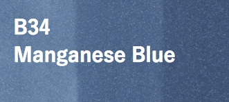 Copic COPIC SKETCH B34 MAGANESE BLUE