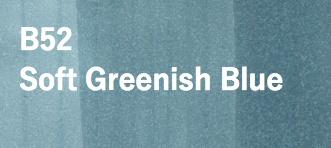 Copic COPIC SKETCH B52 SOFT GREENISH BLUE