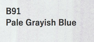 Copic COPIC SKETCH B91 PALE GRAYISH BLUE