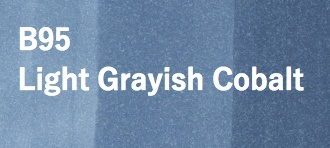 Copic COPIC SKETCH B95 LIGHT GRAYISH COBALT