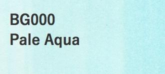 Copic COPIC SKETCH BG000 PALE AQUA