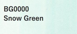 Copic COPIC SKETCH BG0000 SNOW GREEN