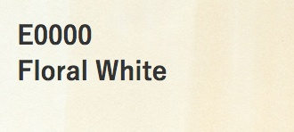 Copic COPIC SKETCH E0000 FLORAL WHITE