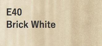 Copic COPIC SKETCH E40 BRICK WHITE