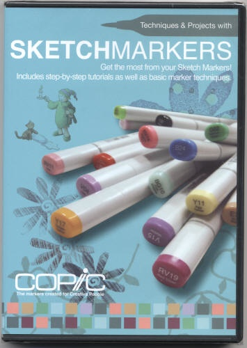 Copic COPIC SKETCH MARKERS DVD