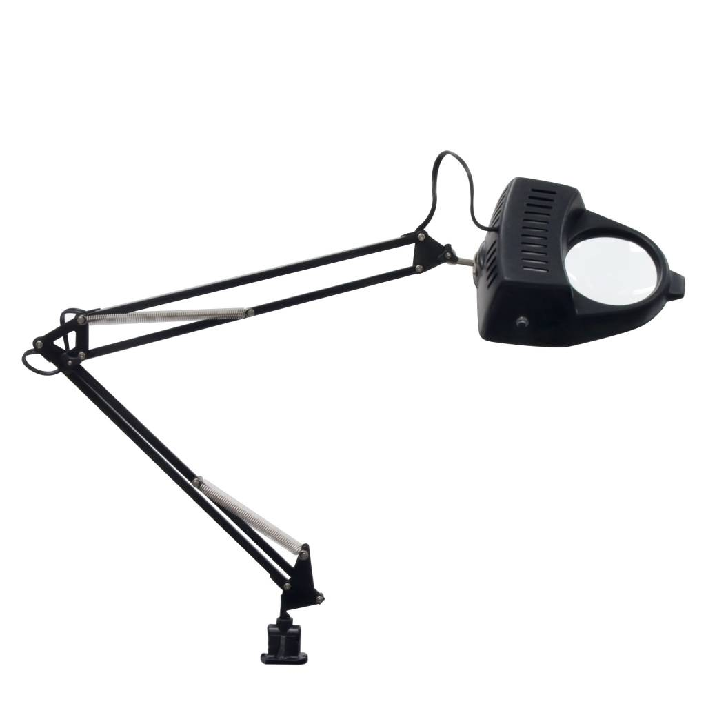 STUDIO DESIGNS STUDIO DESIGNS MAGNIFYING LAMP WITH BULB BLACK