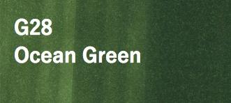 Copic COPIC SKETCH G28 OCEAN GREEN