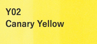 Copic COPIC SKETCH Y02 CANARY YELLOW