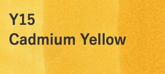 Copic COPIC SKETCH Y15 CADMIUM YELLOW