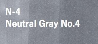 Copic COPIC SKETCH N4 NEUTRAL GREY 4