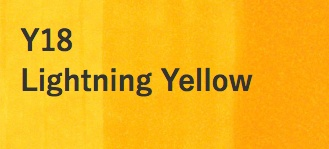 Copic COPIC SKETCH Y18 LIGHTNING YELLOW