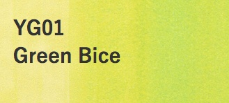 Copic COPIC SKETCH YG01 GREEN BICE
