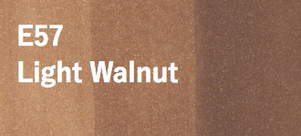 Copic COPIC SKETCH E57 LIGHT WALNUT