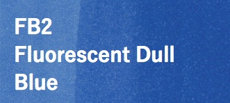 Copic COPIC SKETCH FB2 FLUORESCENT DULL BLUE