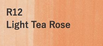 Copic COPIC SKETCH R12 LIGHT TEA ROSE