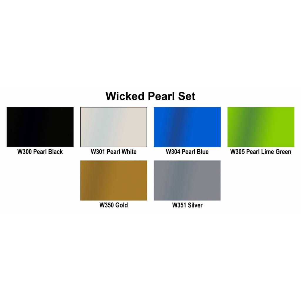 CREATEX WICKED COLOR PEARL SET/6