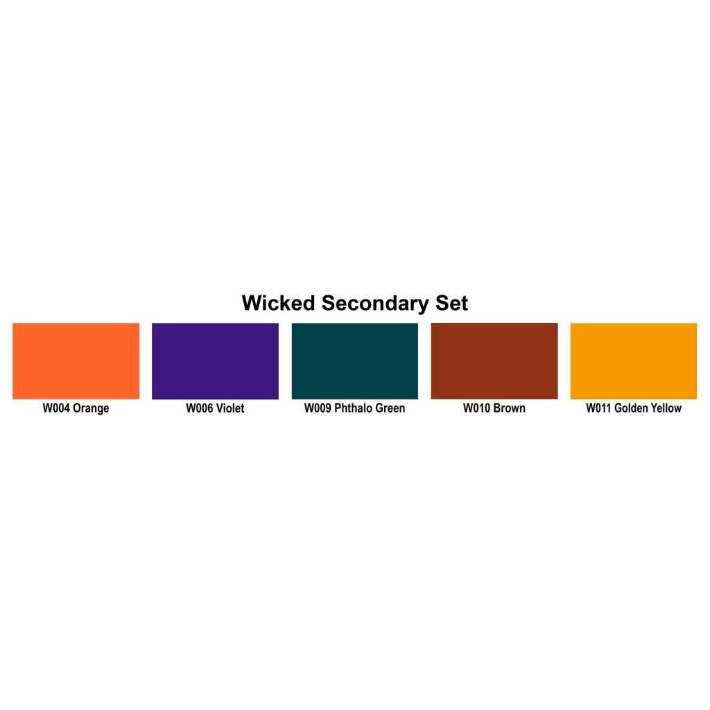 CREATEX WICKED COLOR SECONDARY SET/6