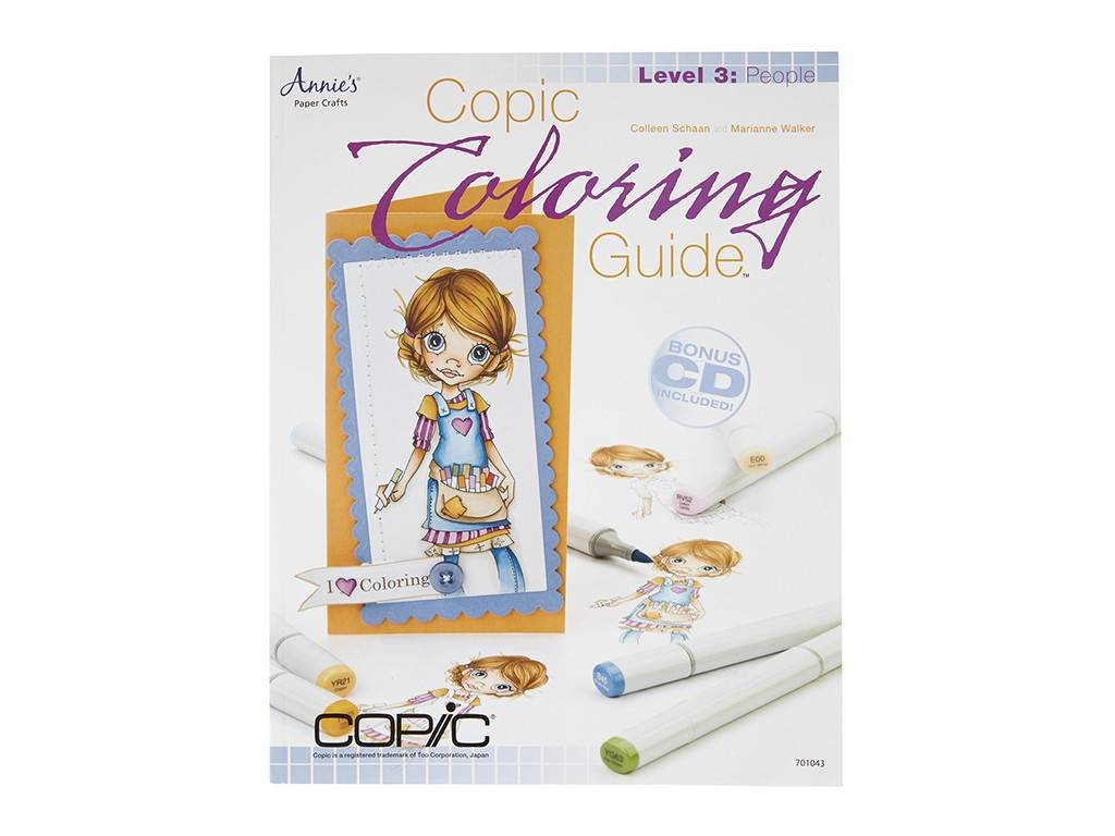 Copic COPIC COLORING GUIDE LEVEL 3