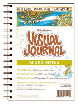 STRATHMORE STRATHMORE VISUAL JOURNAL MIXED MEDIA 5.5X8