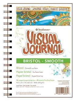 STRATHMORE STRATHMORE VISUAL JOURNAL BRISTOL SMOOTH 9X12