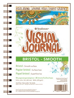 STRATHMORE STRATHMORE VISUAL JOURNAL BRISTOL SMOOTH 5.5X8