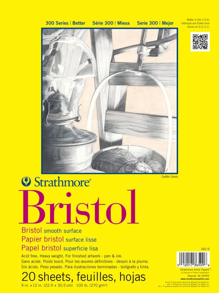 STRATHMORE STRATHMORE 300 BRISTOL SMOOTH 11X14    STR-342-11