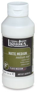 LIQUITEX LIQUITEX MATTE MEDIUM 8OZ