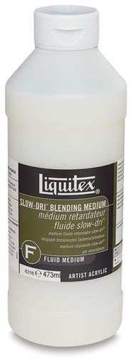 LIQUITEX LIQUITEX SLOW DRI BLENDING MEDIUM 16OZ