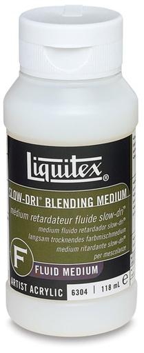 LIQUITEX LIQUITEX SLOW DRI BLENDING MEDIUM 4OZ