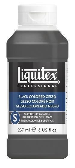 LIQUITEX LIQUITEX GESSO BLACK 8OZ