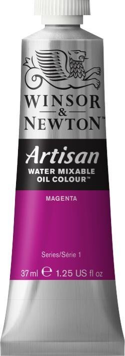 WINSOR NEWTON ARTISAN WATER MIXABLE OIL COLOUR MAGENTA 37ML