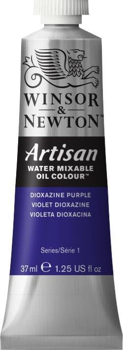 WINSOR NEWTON ARTISAN WATER MIXABLE OIL COLOUR DIOXAZINE PURPLE 37ML
