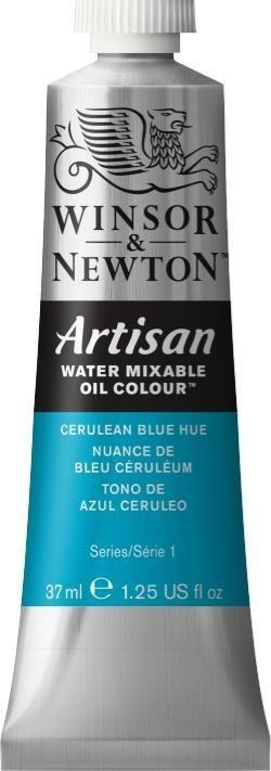 WINSOR NEWTON ARTISAN WATER MIXABLE OIL COLOUR CERULEAN BLUE HUE 37ML