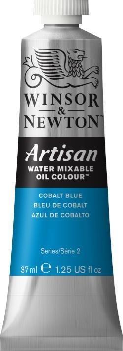 WINSOR NEWTON ARTISAN WATER MIXABLE OIL COLOUR COBALT BLUE 37ML