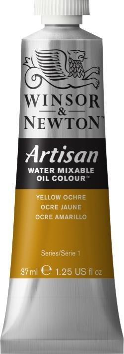 WINSOR NEWTON ARTISAN WATER MIXABLE OIL COLOUR YELLOW OCHRE 37ML