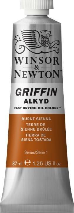 WINSOR NEWTON GRIFFIN ALKYD OIL COLOUR BURNT SIENNA 37ML