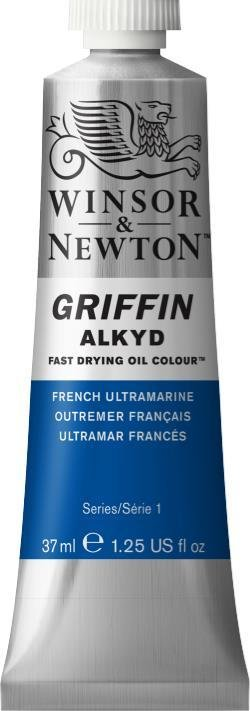 WINSOR NEWTON GRIFFIN ALKYD OIL COLOUR FRENCH ULTRAMARINE 37ML