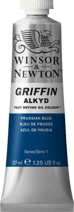 WINSOR NEWTON GRIFFIN ALKYD OIL COLOUR PRUSSIAN BLUE 37ML