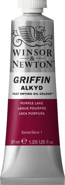 WINSOR NEWTON GRIFFIN ALKYD OIL COLOUR PURPLE LAKE 37ML