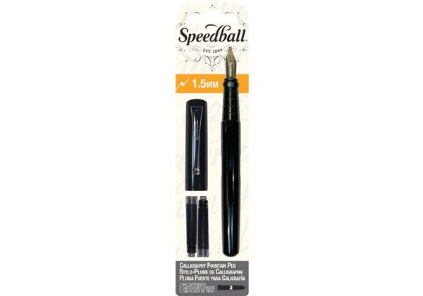SPEEDBALL INC SPEEDBALL CALLIGRAPHY FOUNTAIN PEN 1.5MM NIB