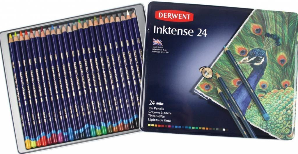 DERWENT DERWENT INKTENSE PENCIL SET/24