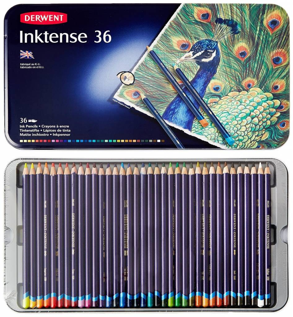 DERWENT DERWENT INKTENSE PENCIL SET/36