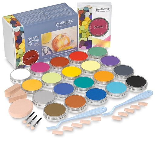 Pan Pastel PAN PASTEL PAINTING SET/20