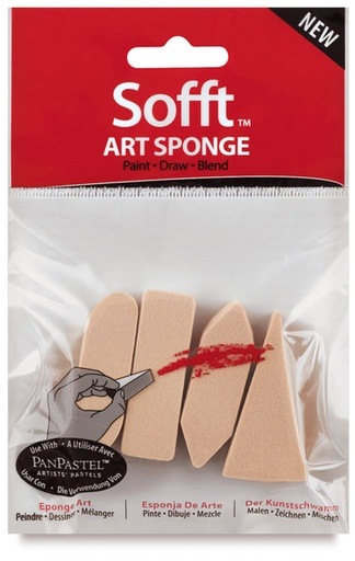 Pan Pastel PAN PASTEL SOFFT SPONGE ASSORTMENT 4/PK