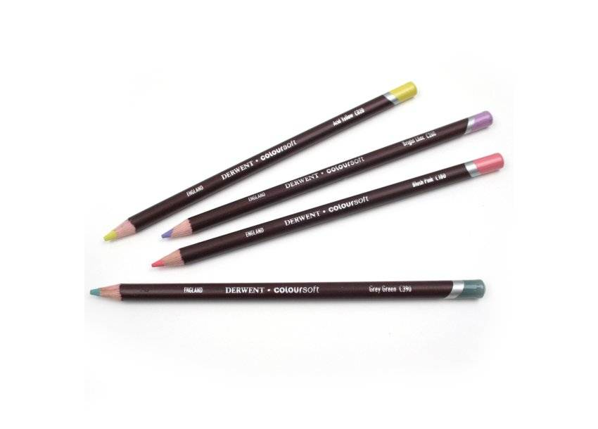 DERWENT DERWENT COLOURSOFT PENCIL YELLOW GREEN C450