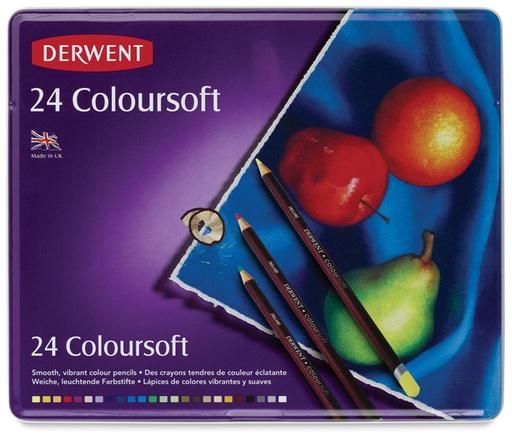 DERWENT DERWENT COLOURSOFT SET/24